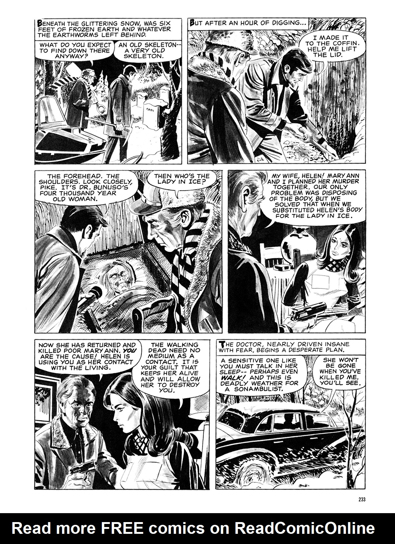 Read online Eerie Archives comic -  Issue # TPB 6 - 232