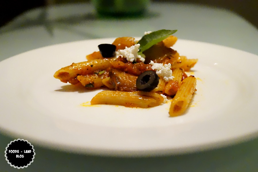 Pasta a la norma @Glimpses of Italy @ Sphyre | The Gateway Hotel-Residency Road | Bangalore