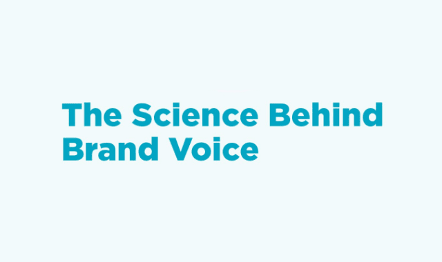 The Science Behind Brand Voice