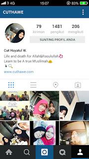 instagram cuthawe
