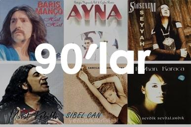 90'lar pop şarkılar