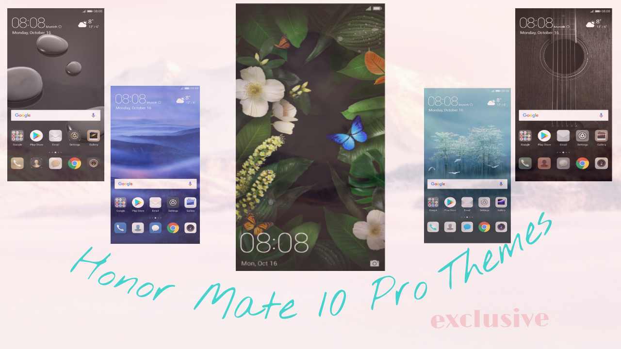 Huawei Mate 10 Pro Themes Collection [Leaked]