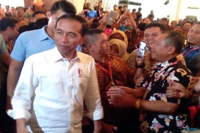 Berikan Pengarahan Dana Desa, Jokowi: Boyolali Mana? Coba Maju