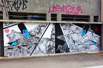 Sunday Street Art : SteW - Les samouraïs - Vitry-sur-Seine