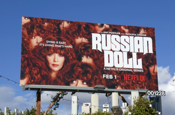 Russian Doll season 1 billboard