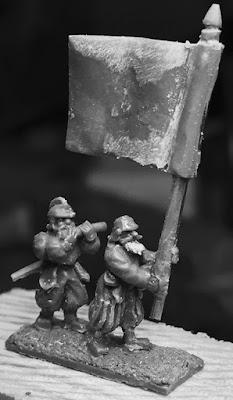Landsknecht Hellebardiere Sculpts by Warmonger Miniatures picture 4