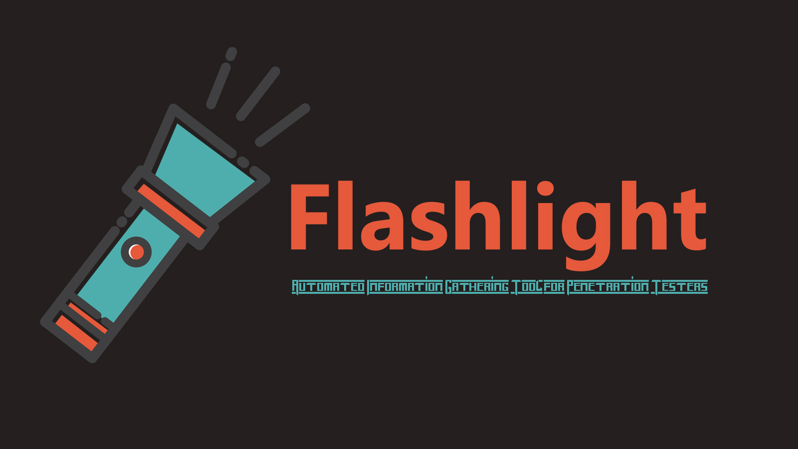 Flashlight - Automated Information Gathering Tool for Penetration Testers