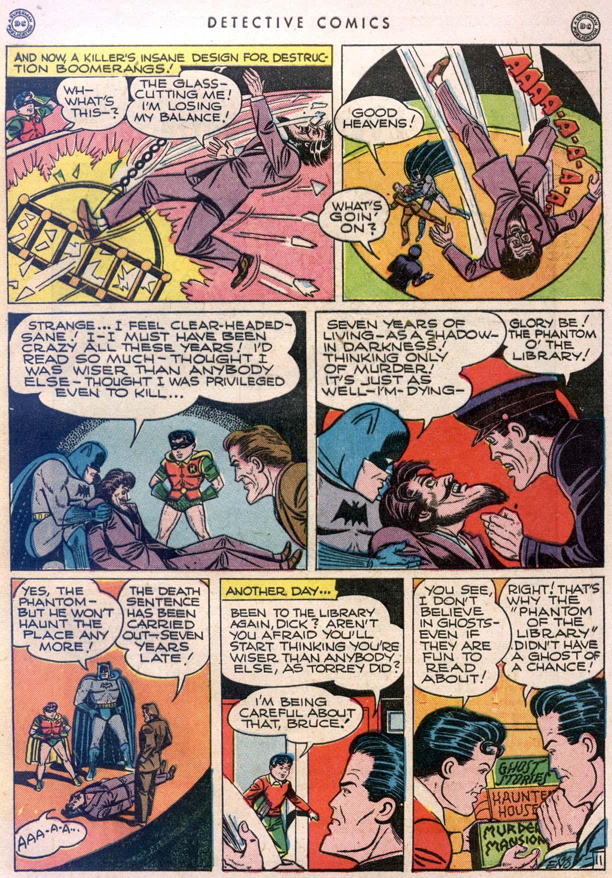 Read online Detective Comics (1937) comic -  Issue #106 - 13