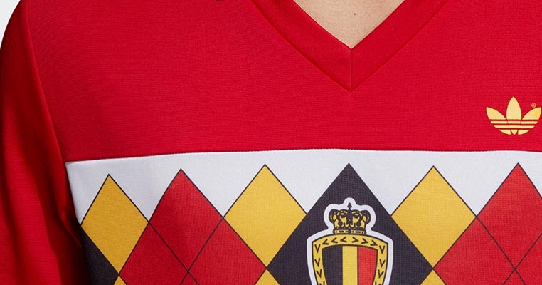 huge selection of 650ed dfb2f Adidas Originals Belgium 1984 Retro Jersey Released