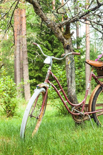 vanha pyörä