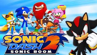 لعبة Sonic Dash 2: Sonic Boom اموال غير محدودة كاملة للاندرويد (اخر اصدار)