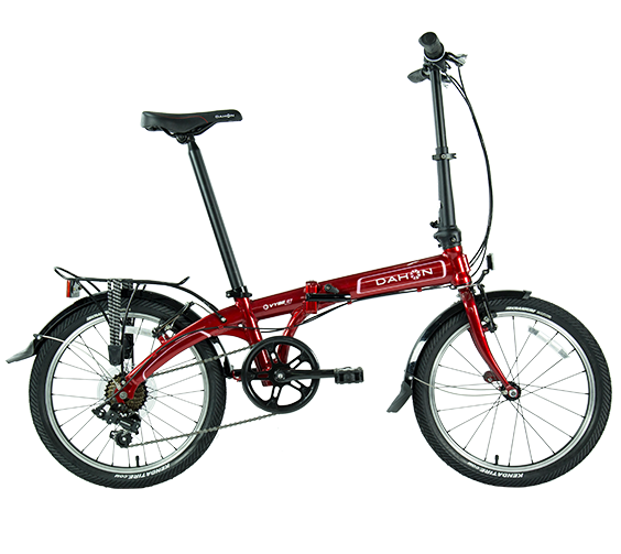 Dahon Vybe D7 Rood Bagagedrager