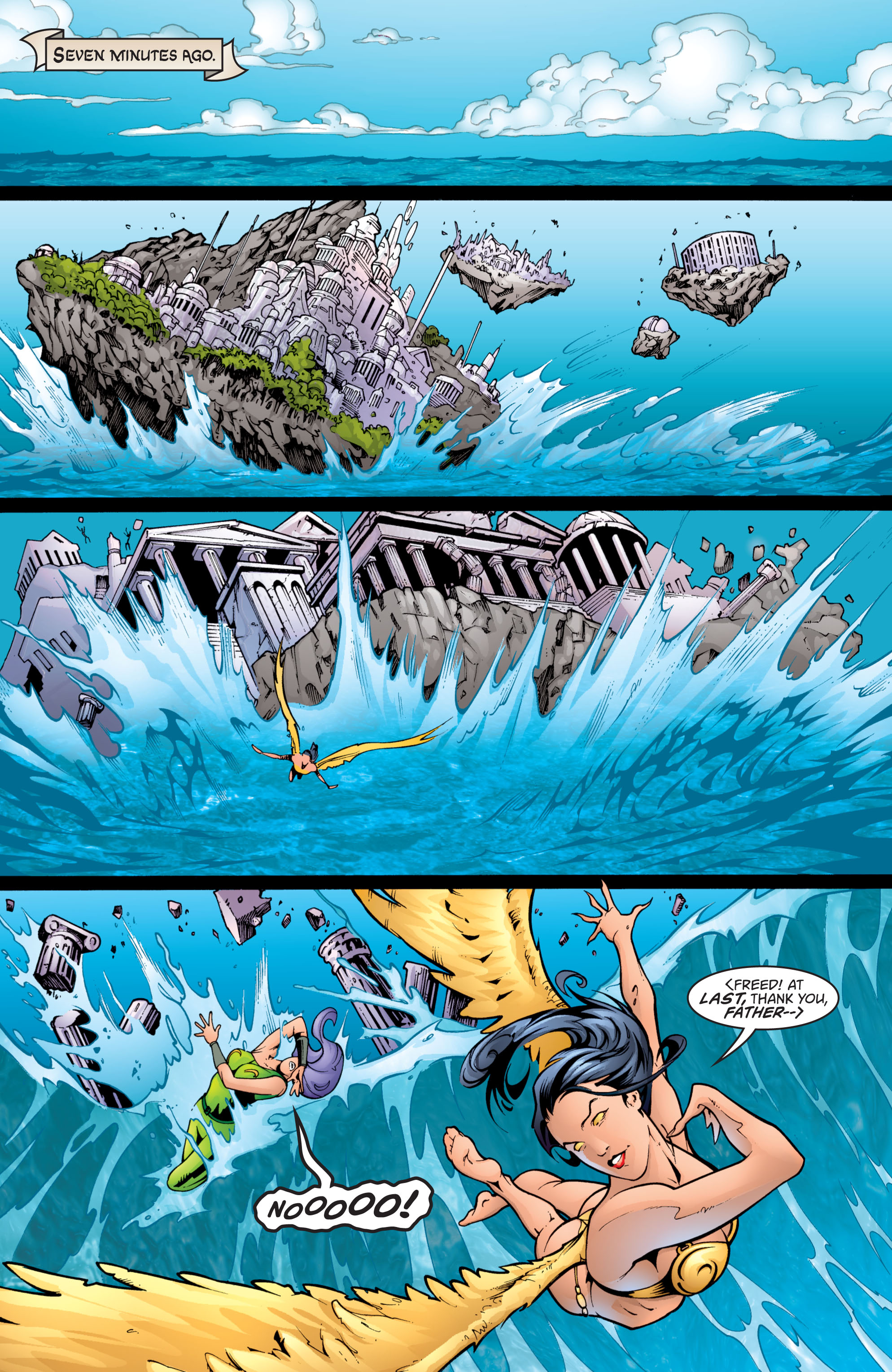 Read online Wonder Woman (1987) comic -  Issue #201 - 2