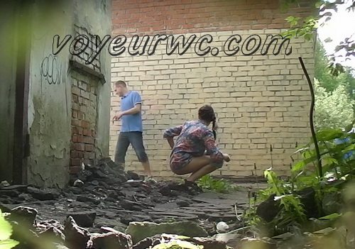 PissHunters 9764-9779 (Girls pissing outdoors on the hidden camera)