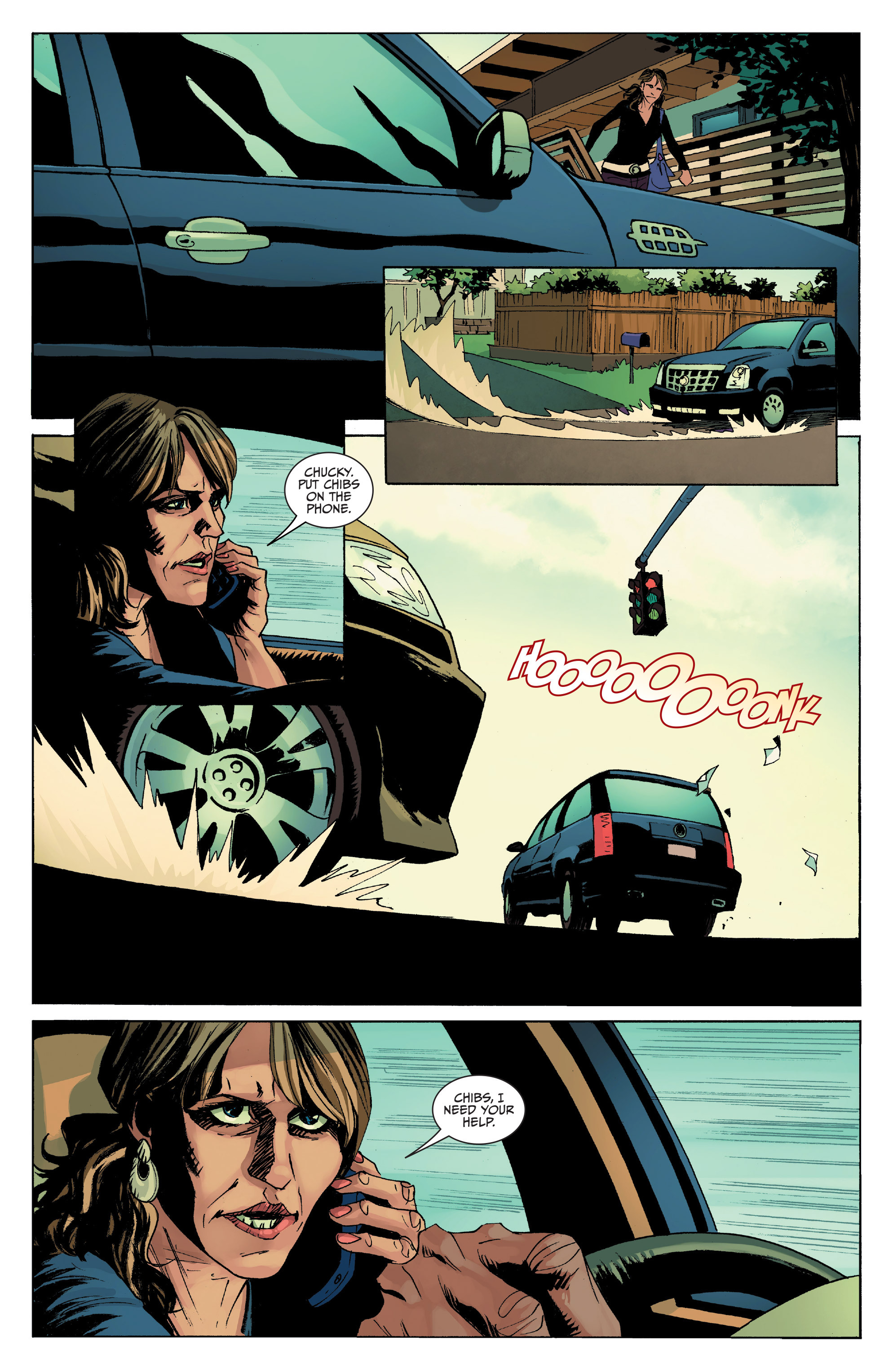Read online Sons of Anarchy comic -  Issue #8 - 16