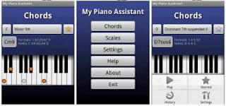Aplikasi belajar musik terbaik my piano assistant