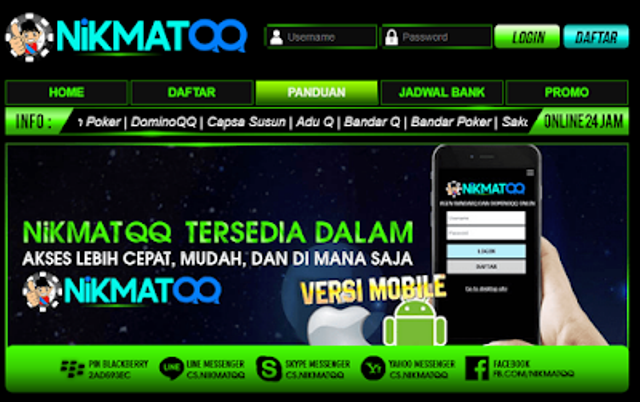 Website Domino QQ Terpopuler