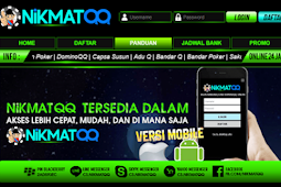 Website Domino QQ Terpopuler Bisa Jadi Bandar : NikmatQQ.com