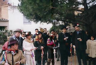 """""""Fiesta de Quintos"""" en un pueblo de la provincia de Zaragoza."""