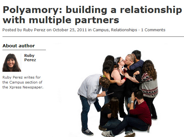 What is the definition of polyamorous