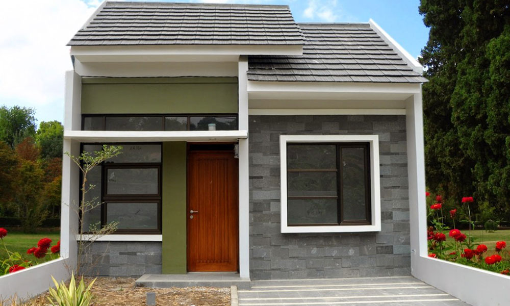 jenis dan bentuk rumah tipe 21/24 Indonesia