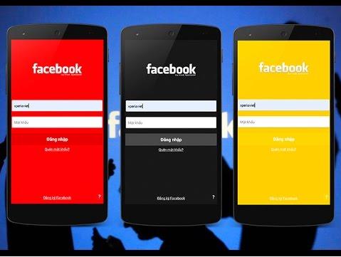 كيفية تغيير لون الفيس بوك على الاندرويد