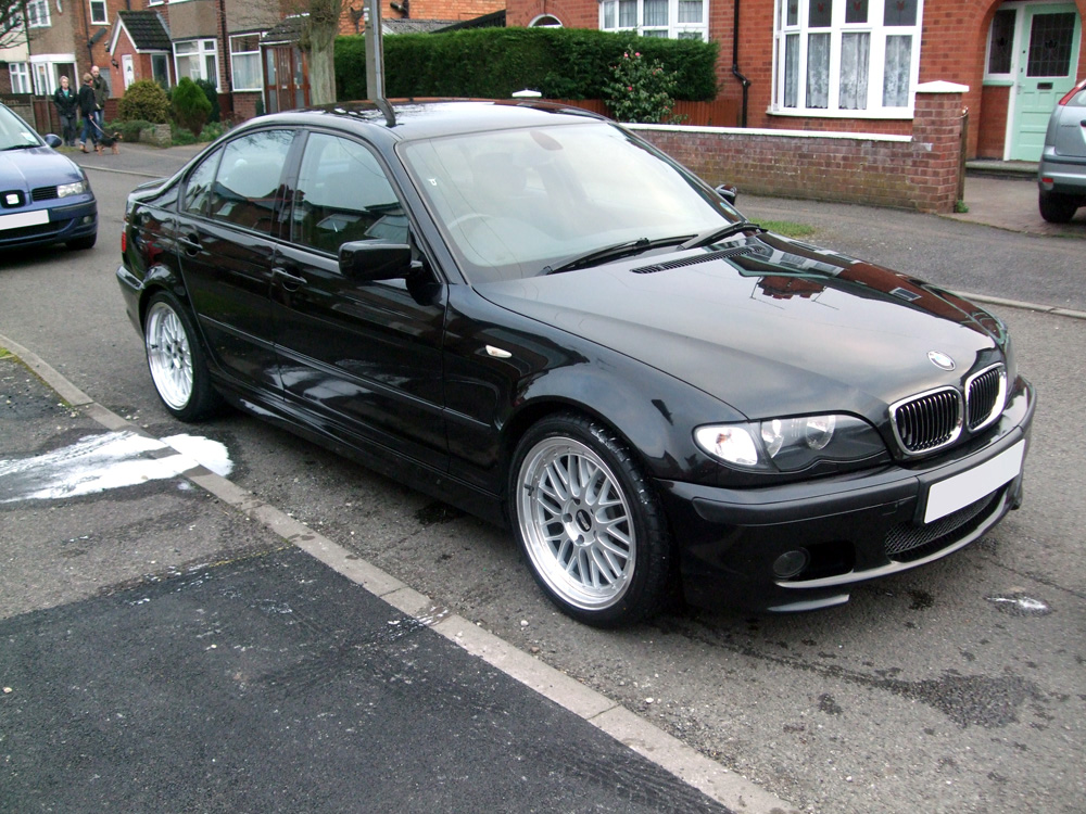 bmw e46 330d build blog bbs lm 18 inch alloy wheels. Black Bedroom Furniture Sets. Home Design Ideas