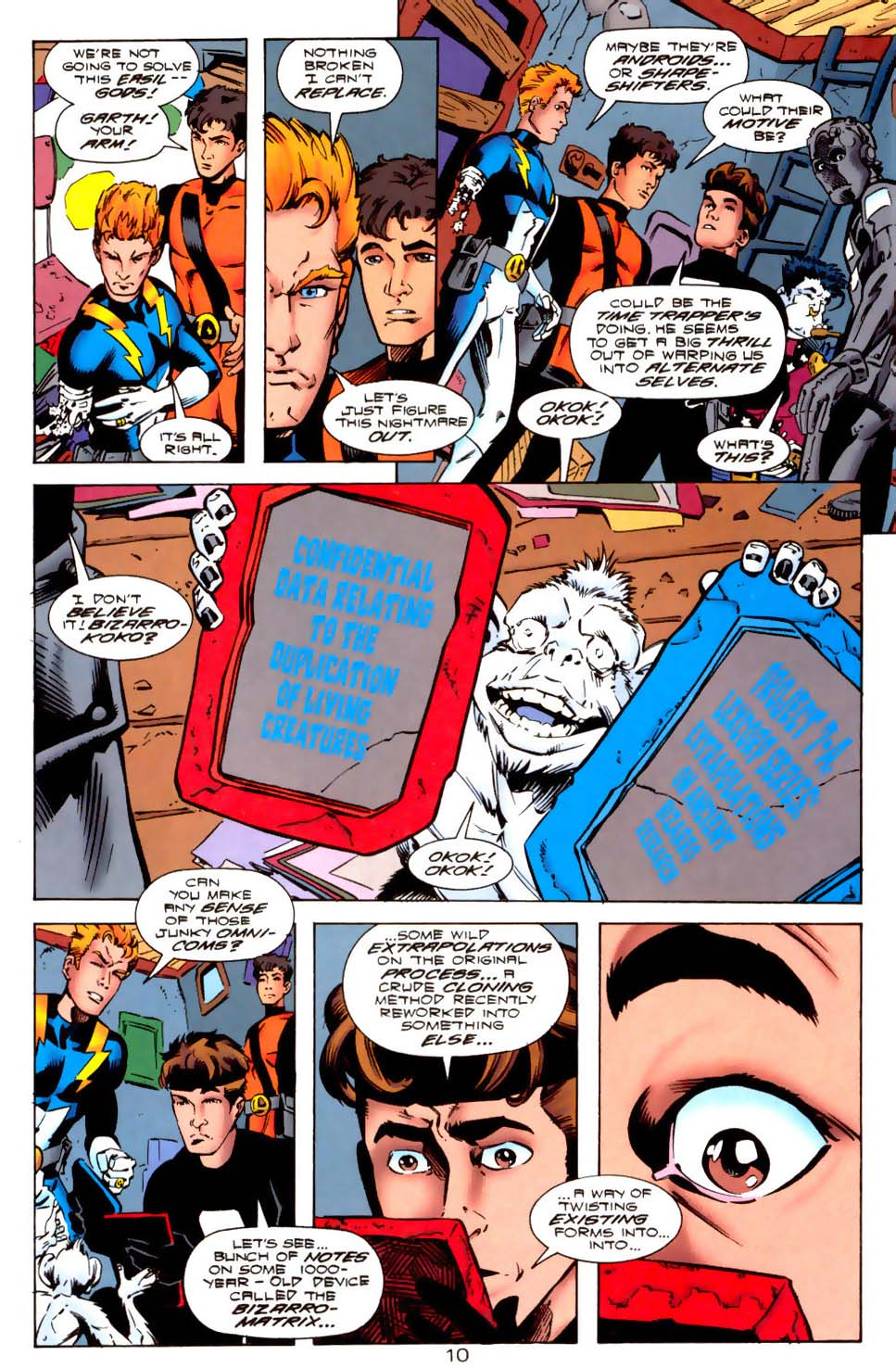 Legion of Super-Heroes (1989) 114 Page 10