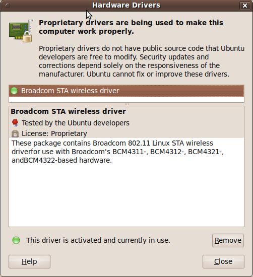 BCM4311 UBUNTU DRIVERS FOR WINDOWS XP