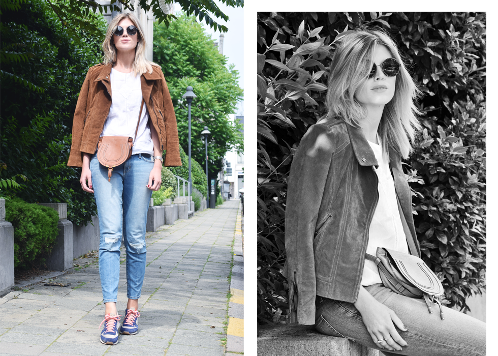 Outfit of the day, Esprit, Dries Van Noten, Current/Elliott, Nike, Zara, Chloé, outfit, fashion blogger, style