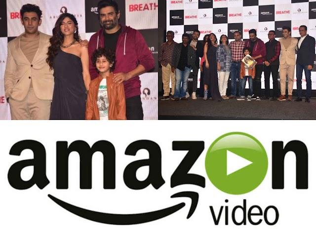 R Madhavan and team launch the trailer of Amazon's next original Breathe