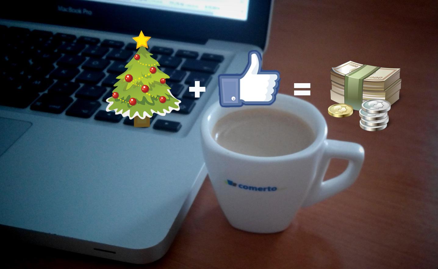 Facebook marketing o Vánocích