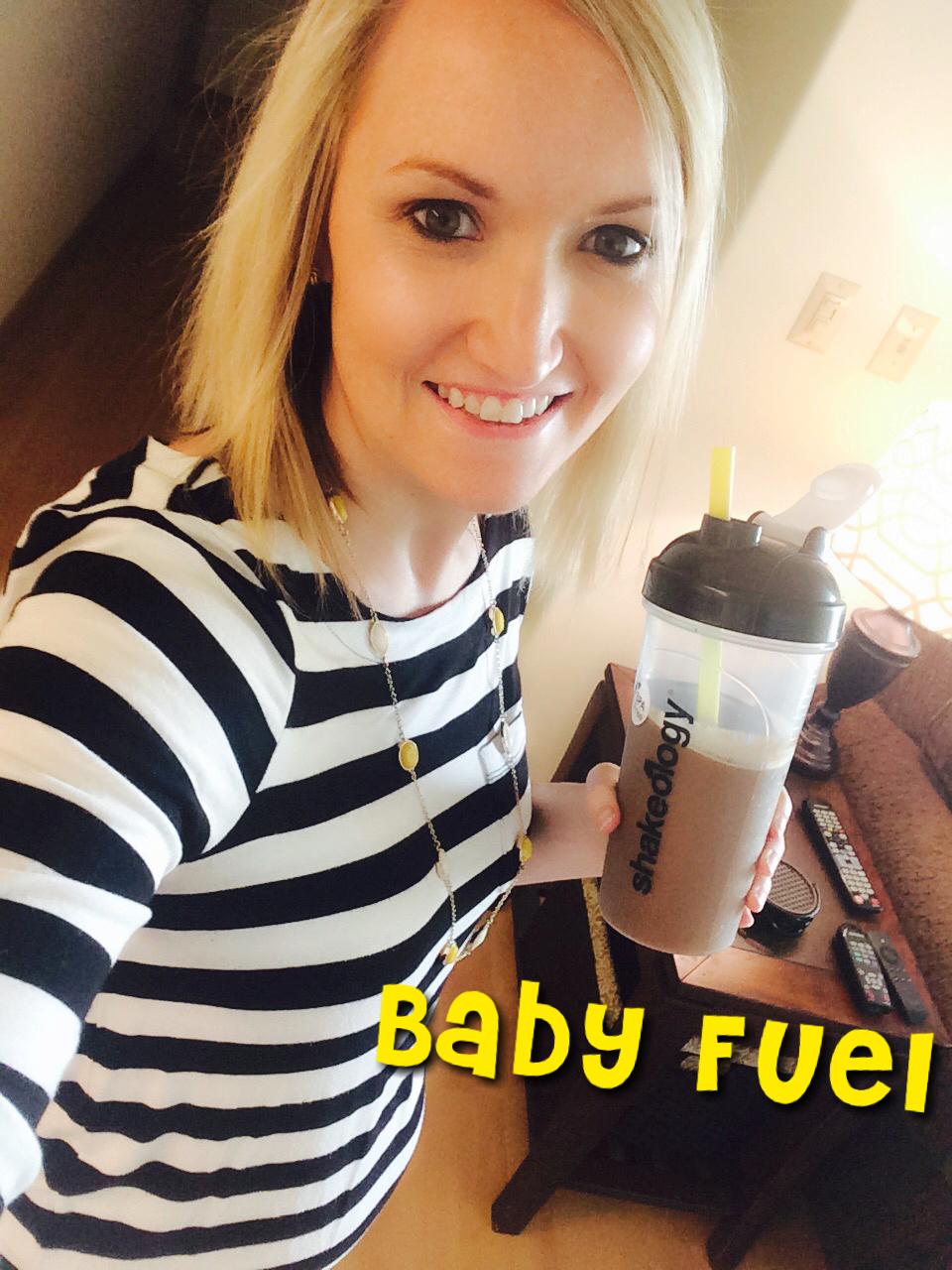 Kacie Deleon Shakeology While Pregnant