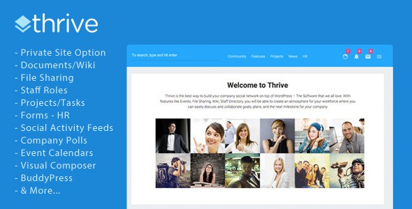 Thrive WordPress Theme