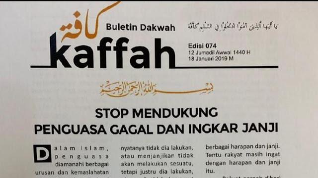Tabloid 'Indonesia Barokah' Disoal Tim Prabowo, TKN Ungkit Buletin 'Kaffah'