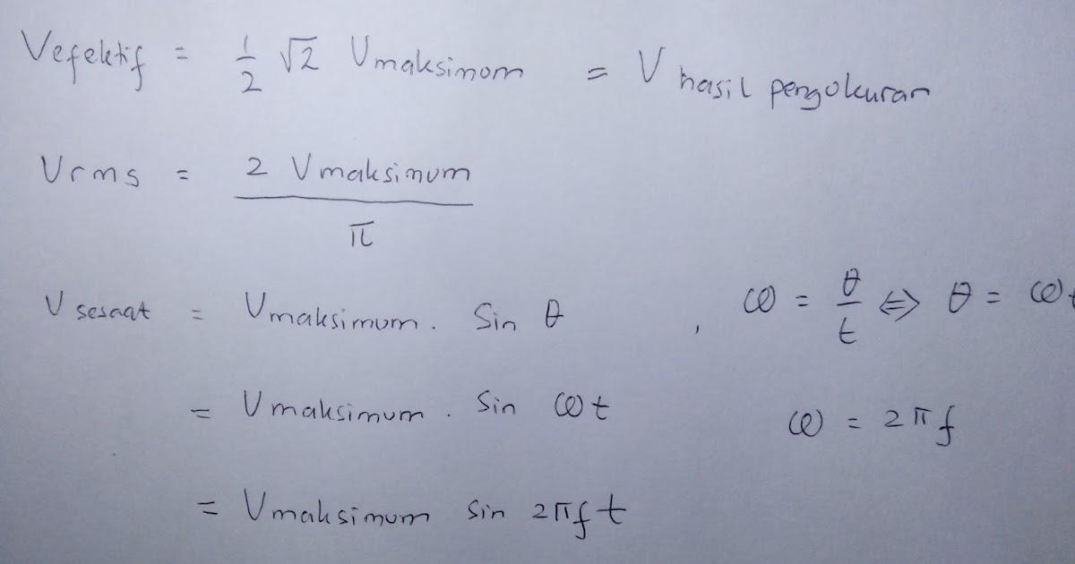 Soal Jawab Listrik Arus Bolak Balik Metode Fisika
