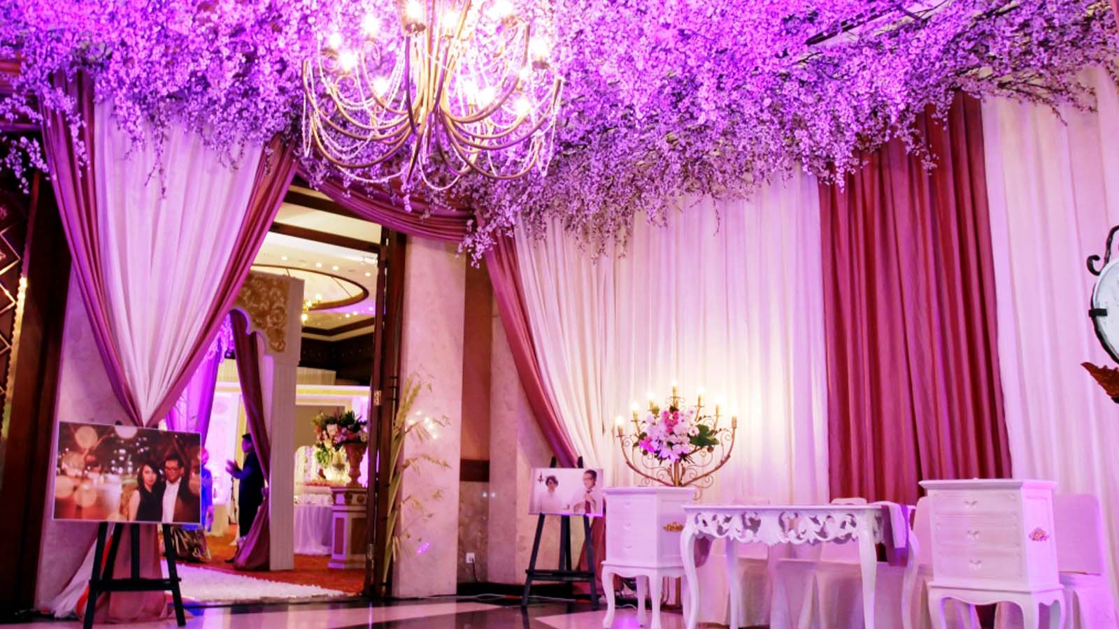 Lavender Wedding Decoration Jakarta - The Best Wedding 2018