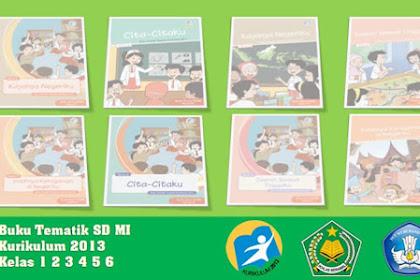 Buku Tematik SD Kurikulum 2013 Revisi Terbaru
