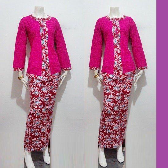 Contoh Gambar Baju Batik Wanita Modern - Koleksi Rina