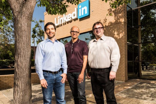 Compra Microsoft a LinkedIn por suma millonaria