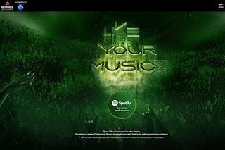 Promoção Rock in Rio Heineken e Spotify