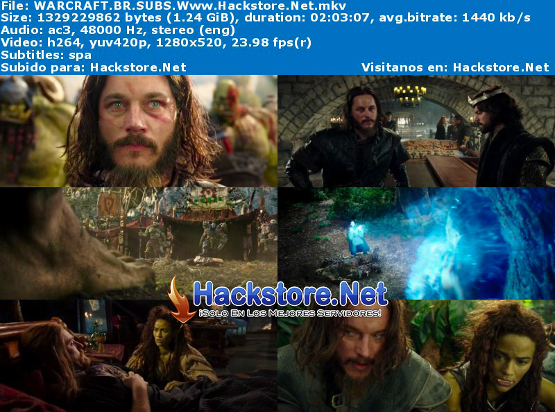 Capturas de Warcraft (2016) Blu-Ray RIP HD Subtitulada