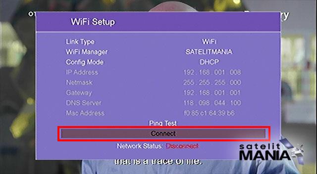 Cara Koneksi Wifi di Skybox a1 pro