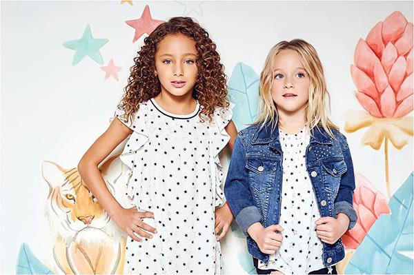 Vestidos de niñas verano 2018. Moda infantil primavera verano 2018.