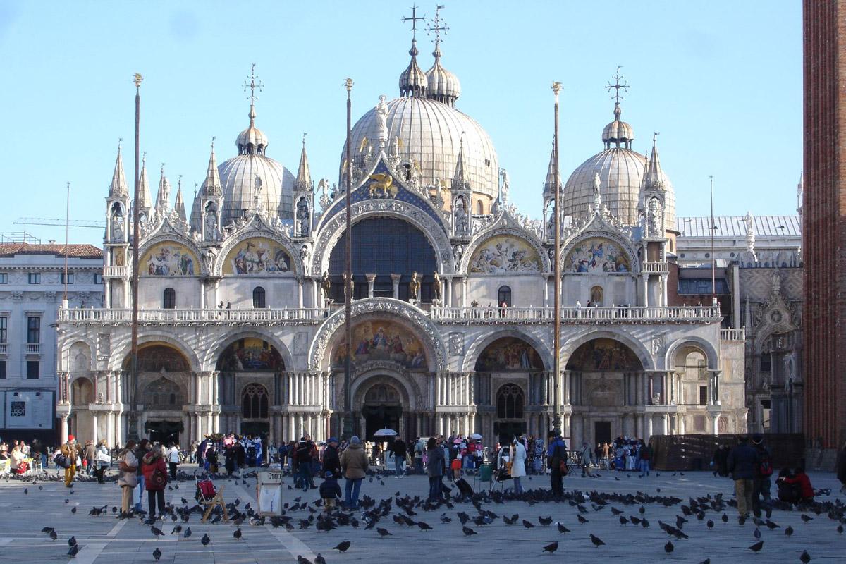 St Venice Basilica Marco