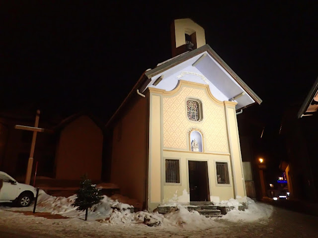 W Valloire jest też barokowa kapliczka