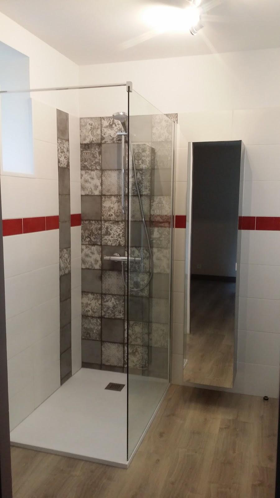Salle D Eau Blanche Et Bois michel le coz agencement & décoration: salle d'eau blanche