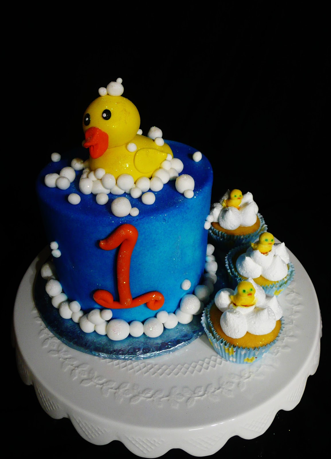 Remarkable Baking With Roxanas Cakes 1St Birthday Cake Cupcakes Rubber Funny Birthday Cards Online Inifofree Goldxyz