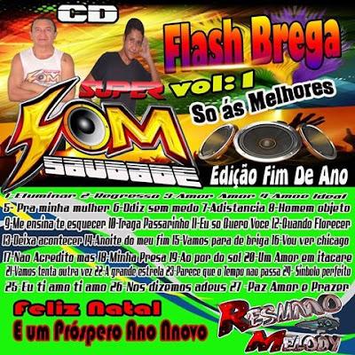 Cd Super Som Saudade - Flash Brega Vol.01