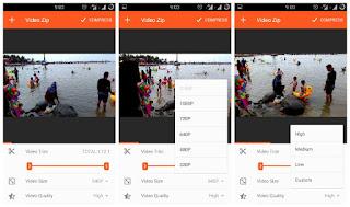 Cara Mengurangi Ukuran dan Resolusi Video tanpa Mengurangi kualitas Video - CatatanDroid.com